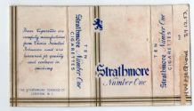 Collectible Old cigarette packet  Strathmore scarce #028
